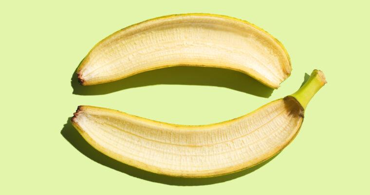 Bananskræl og acne